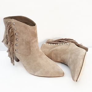International Concepts Fringed Booties Size 7.5